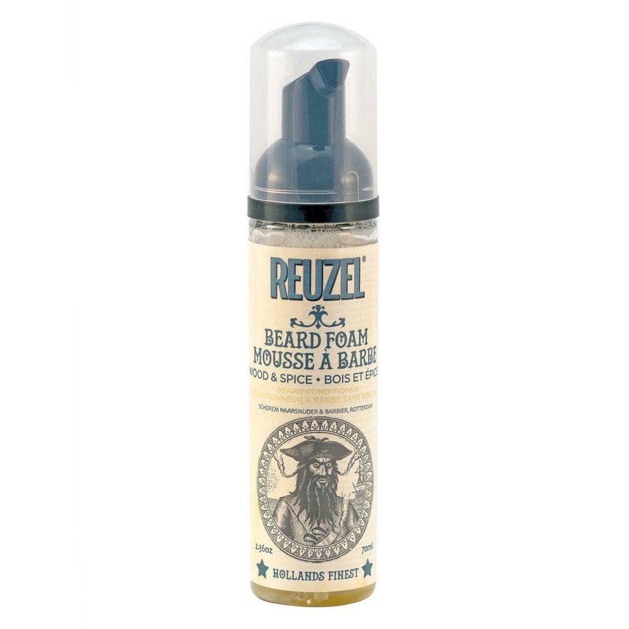 Reuzel Wood & Spice Beard Foam 70 ml
