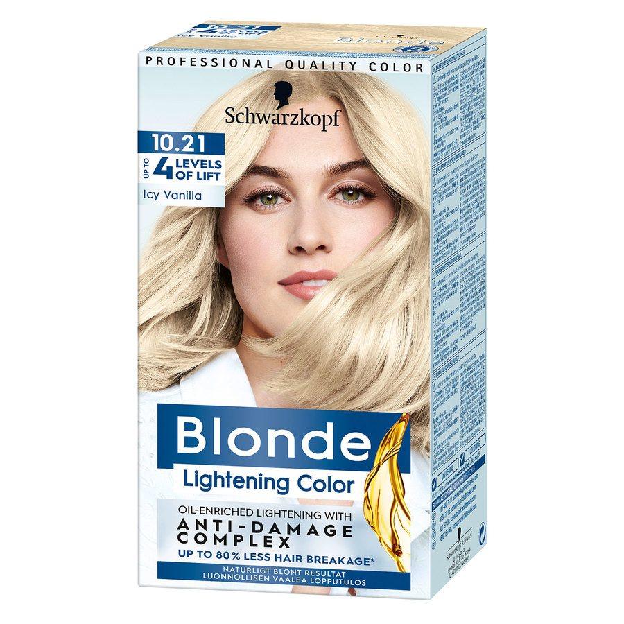 Schwarzkopf Blonde ─ 10.21 Icy Vanilla