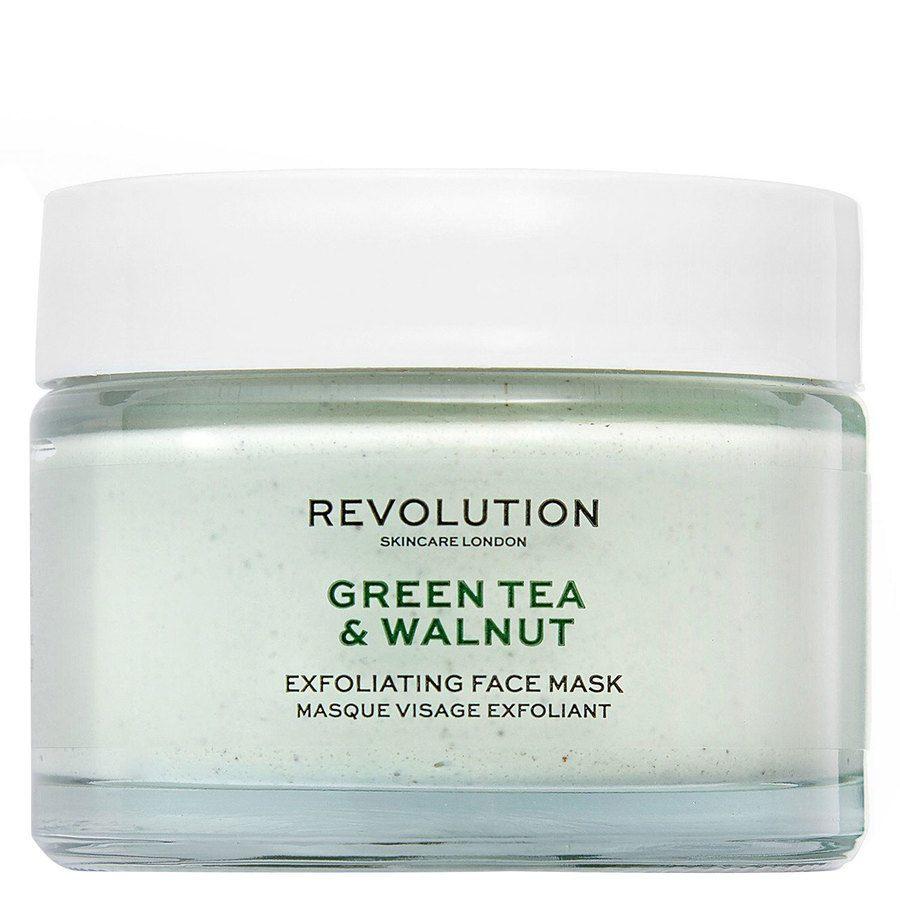 Revolution Skincare Green Tea & Walnut Exfoliating Face Mask 50 ml