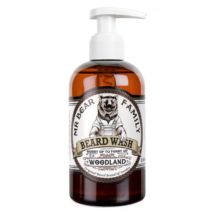 Mr Bear Family Beard Wash 250 ml ─ Woodland