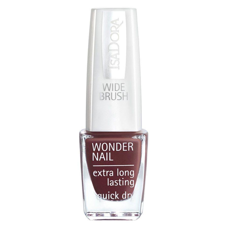 IsaDora Wonder Nail Wide Brush 6 ml ─ #423 Down Town Brown