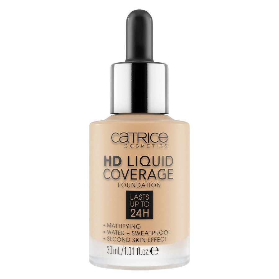 Catrice HD Liquid Coverage Foundation 30 ml – Honey Beige 038