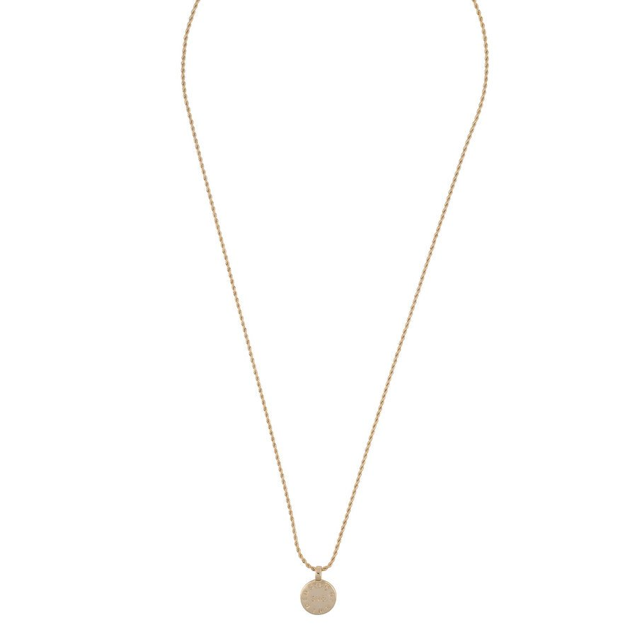 Snö Of Sweden Madeleine Pendant Necklace 60 cm - Plain Gold