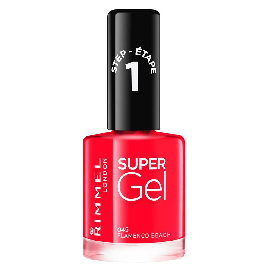 Rimmel London Super Gel Nail Polish 12 ml ─ #045 Flamenco Beach