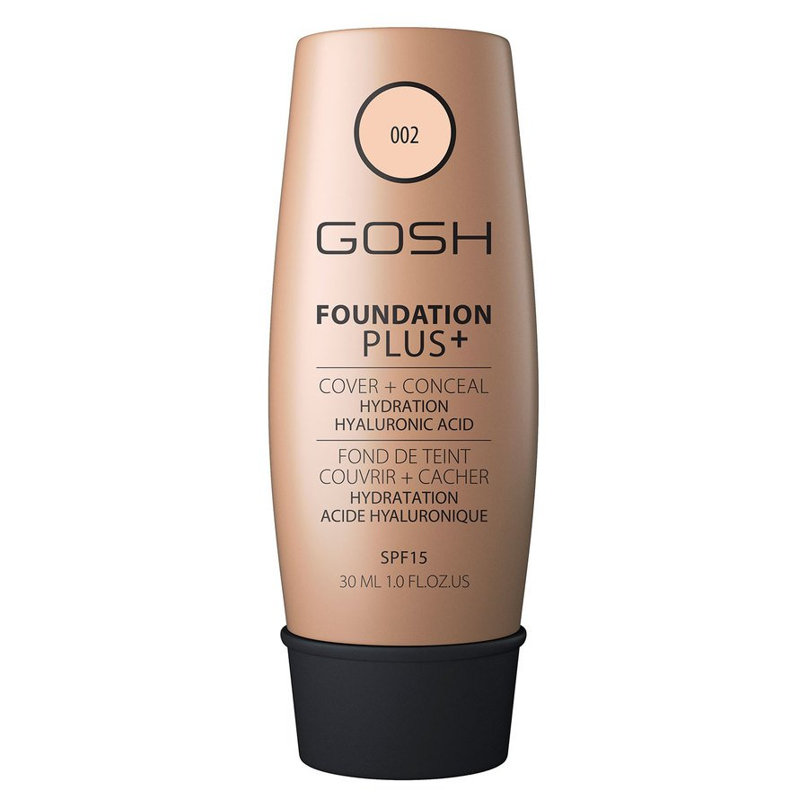 GOSH Foundation Plus+ 30 ml ─ #002 Ivory