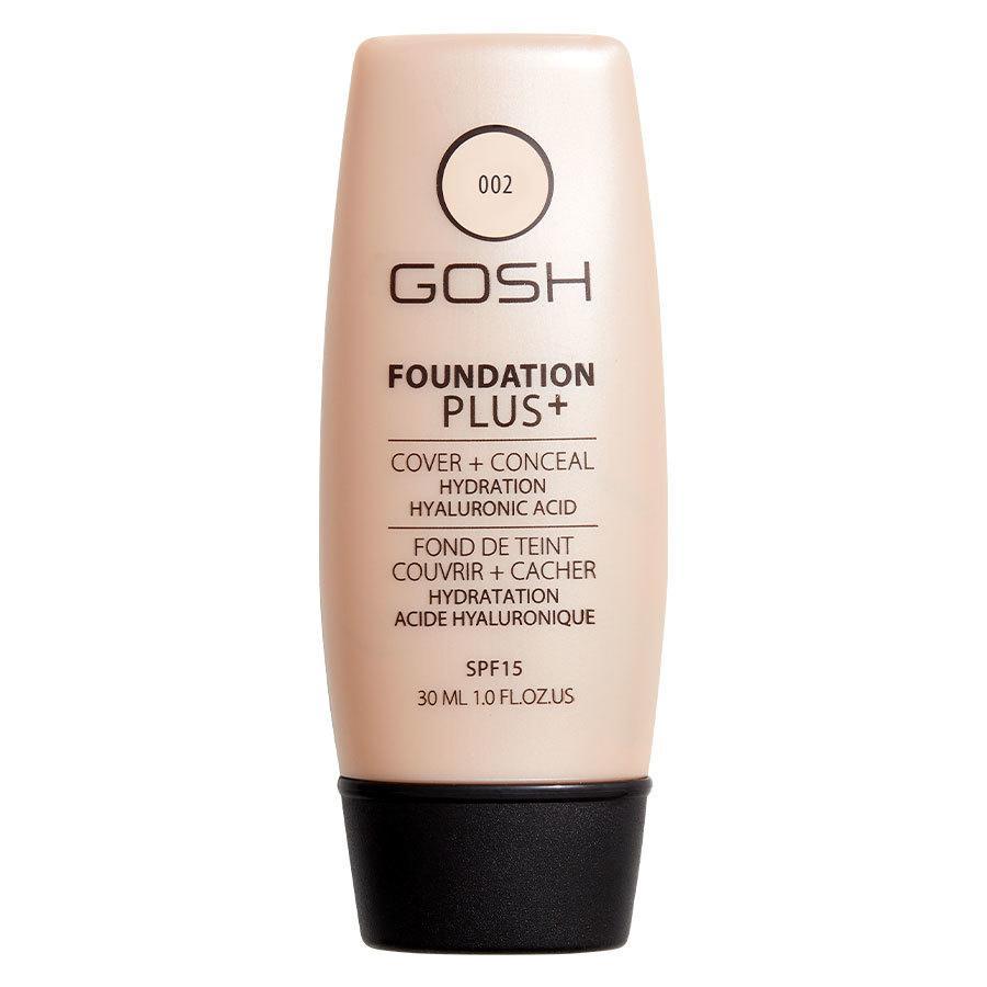 GOSH Foundation Plus+ 30 ml ─ #002 Ivory