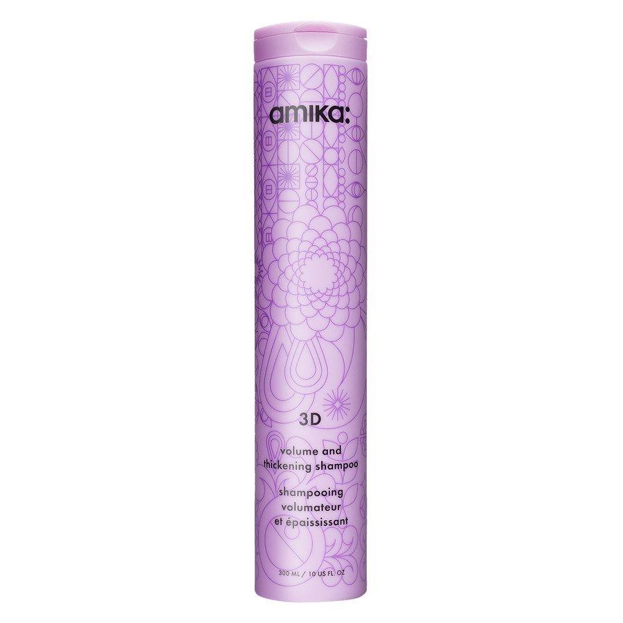 Amika 3D Volume And Thickening Shampoo 300 ml