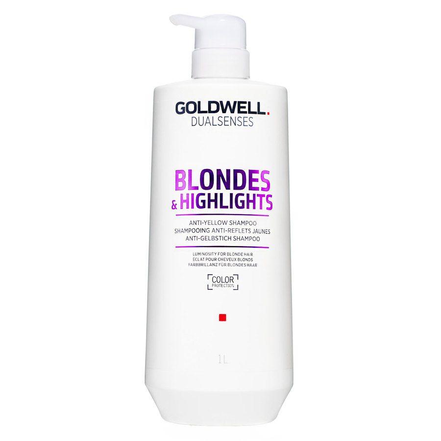 Goldwell Dualsenses Blondes & Highlights Anti-Yellow Shampoo 1 000 ml