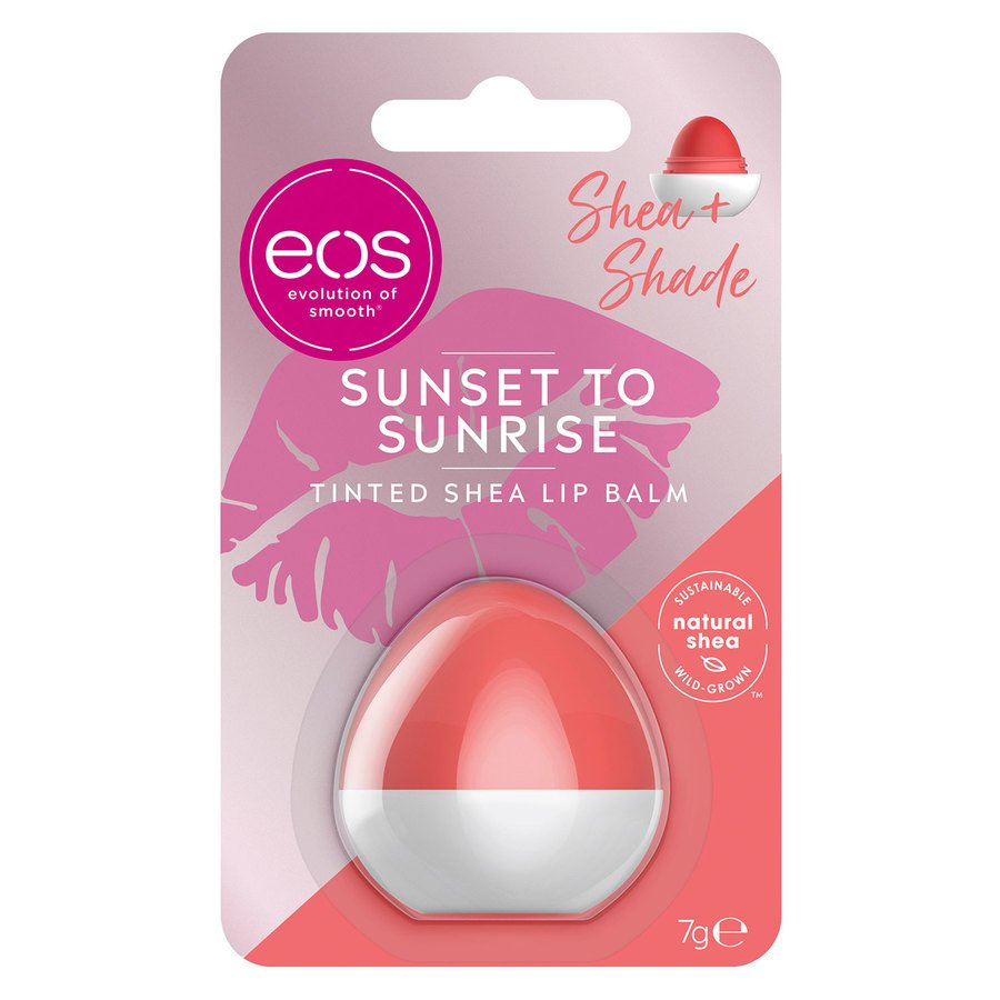 EOS Sunset to Sunrise Tinted Shea Lip Balm – Coral 7 g