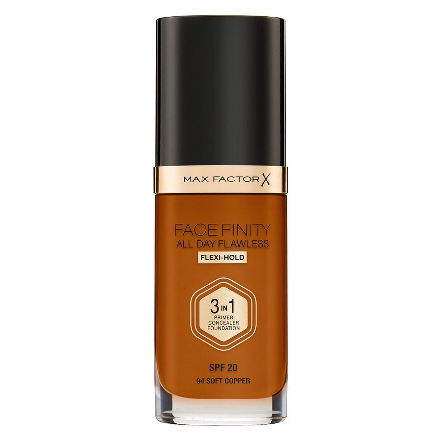 Max Factor Facefinity All Day Flawless 3-in-1 Foundation 30 ml – 94 Soft Copper