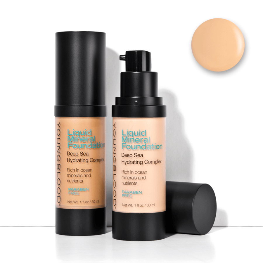 Youngblood Liquid Mineral Foundation – Sand 30ml