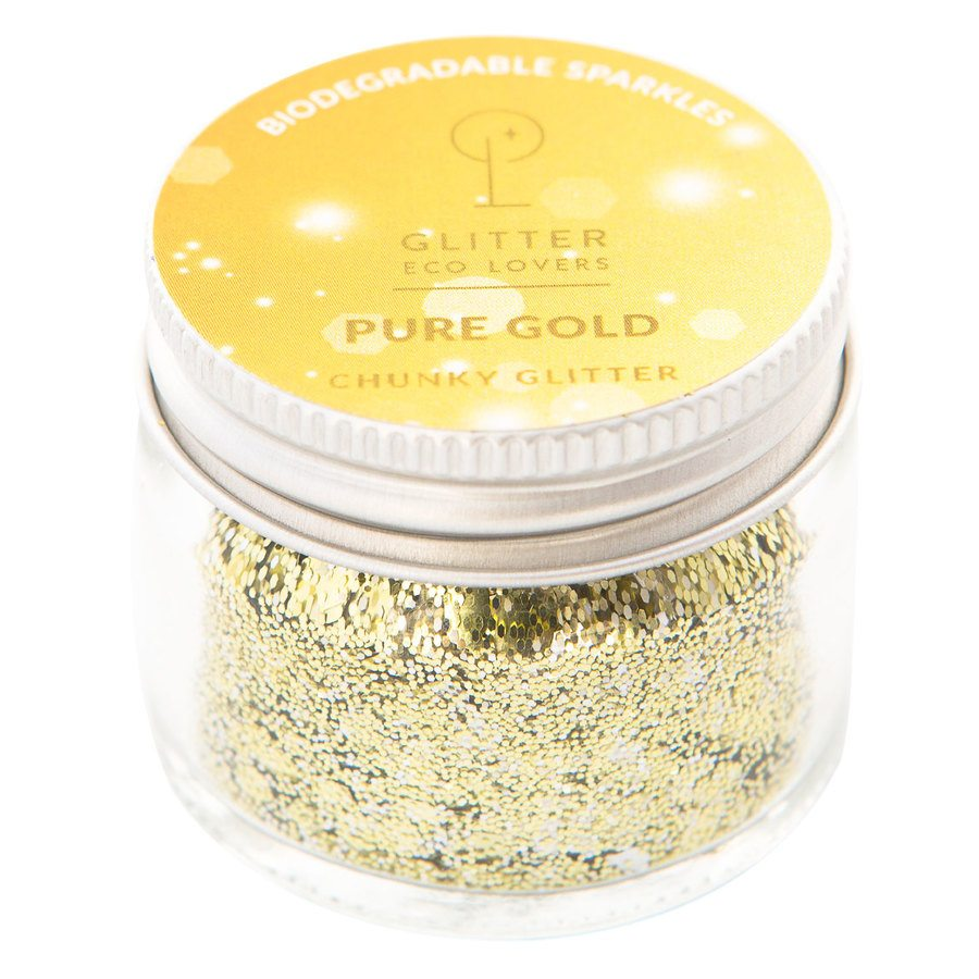 Glitter Eco Lovers 15 ml - Pure Gold