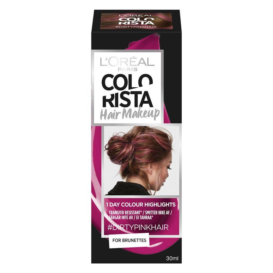 L'Oréal Paris Colorista Hair Makeup - 14 Dirtypink