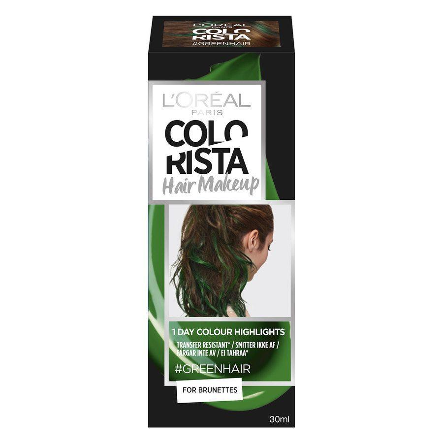 L'Oréal Paris Colorista Hair Makeup - 20 Green