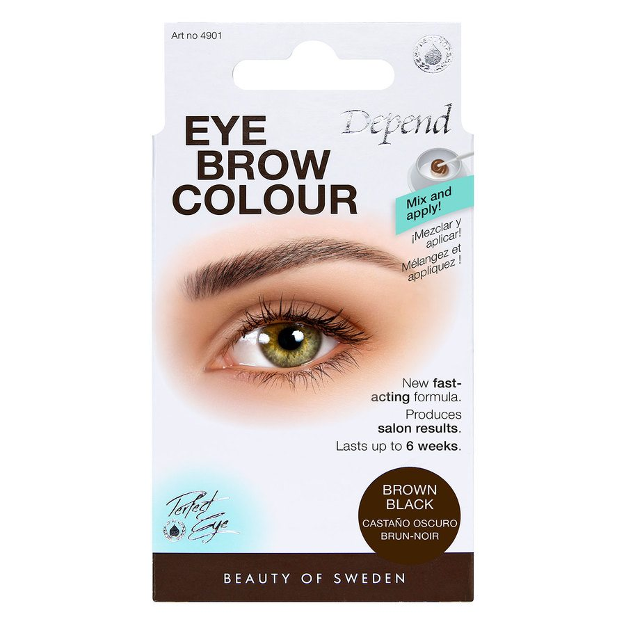 Depend Eyebrow Colour - Brown Black