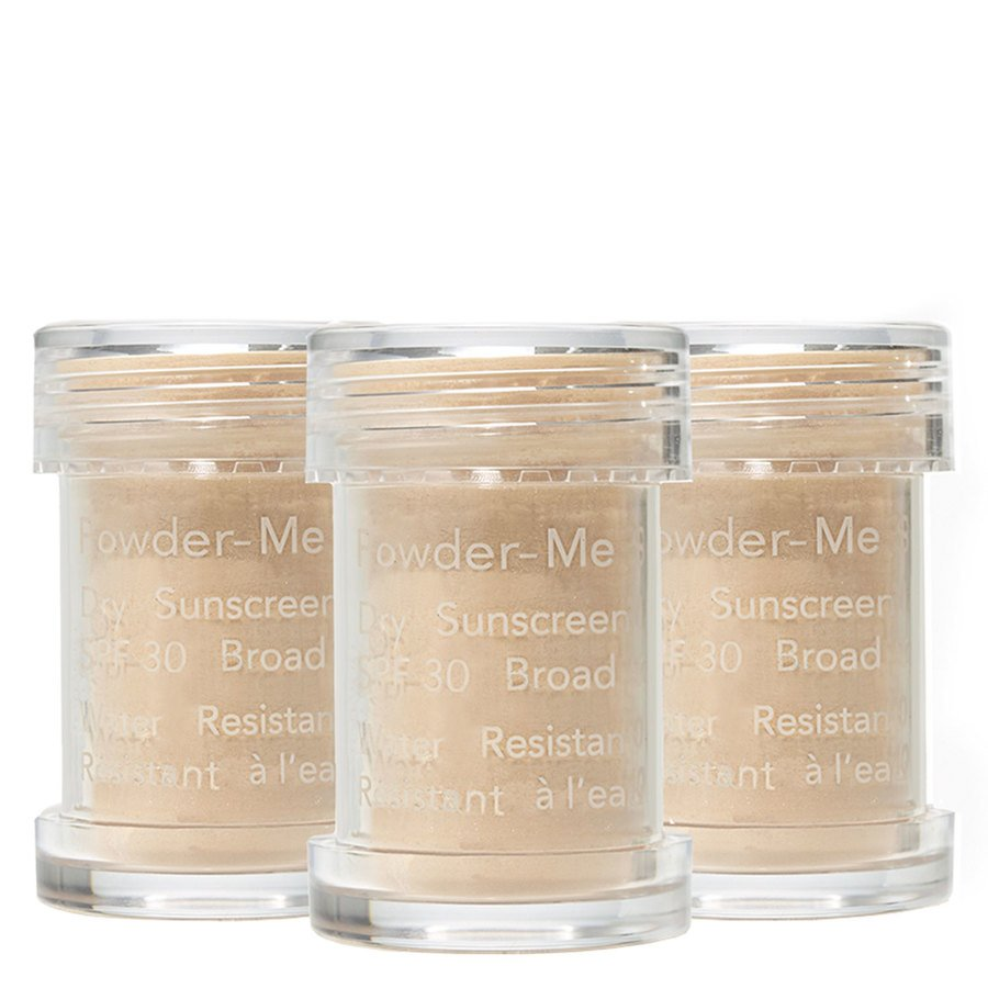 Jane Iredale Powder-Me Dry Sunscreen SPF 30 Nude Refill 3 x 2,5 g