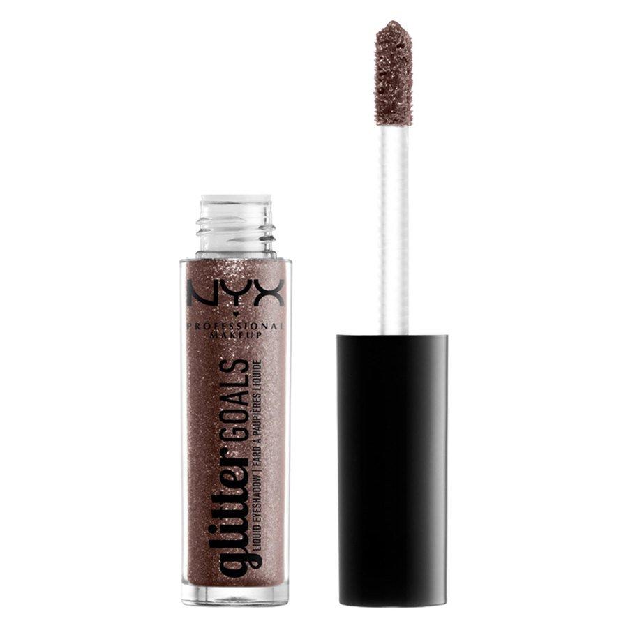 NYX Professional Makeup Glitter Goals Liquid Eyeshadow Multiverse 3,5g