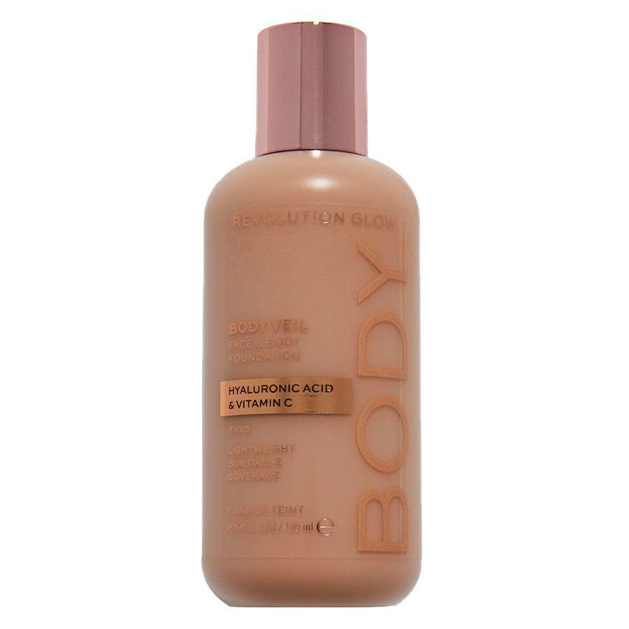 Revolution Beauty Makeup Revolution Revolution Glow Body Veil Foundation 120 ml – F10.5