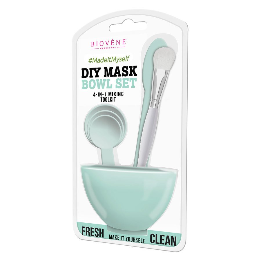 Biovène DIY Mask Bowl Set 4-in-1 – Green