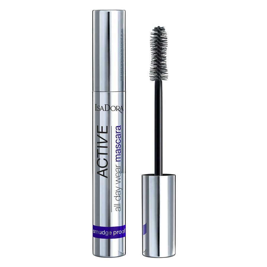 IsaDora Active All Day Wear Mascara 12 ml ─ #20 Deep Black