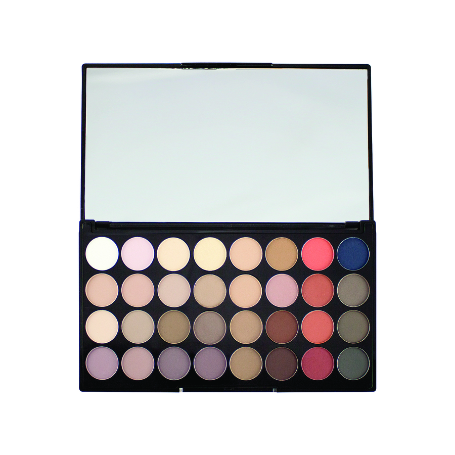 Makeup Revolution 32 Ultra Eyeshadow Palette – Flawless Matte 2