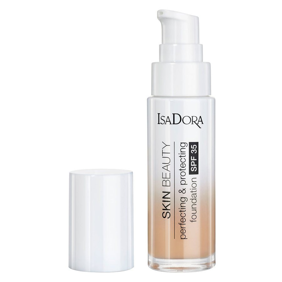 IsaDora Skin Beauty Perfecting & Protecting Foundation SPF35 30 ml – 06 Natural Beige