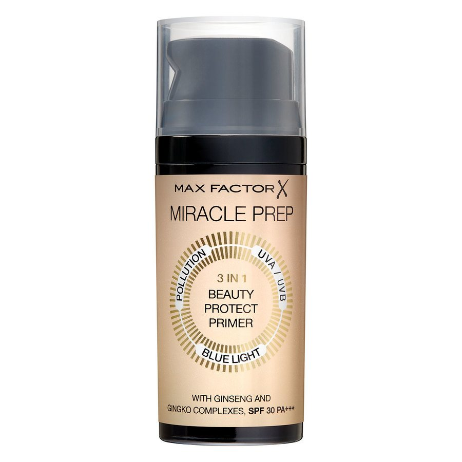 Max Factor Miracle Beauty 3 in 1 Prep Primer SPF30 30 ml