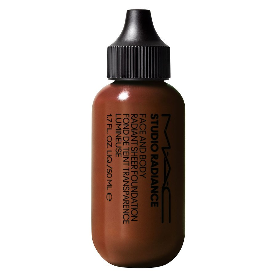 MAC Cosmetics Studio Radiance Face And Body Radiant Sheer Foundation 50 ml ─ N8