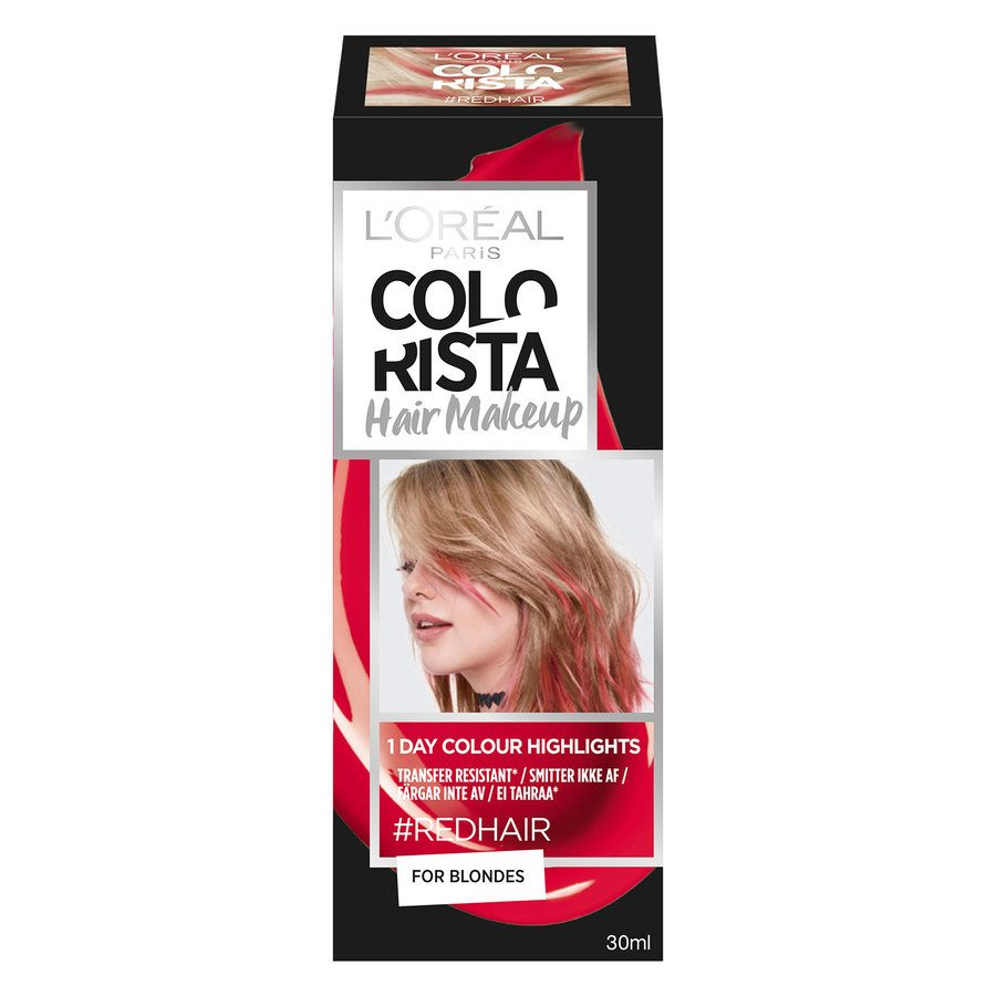 L'Oréal Paris Colorista Hair Makeup - 10 Red