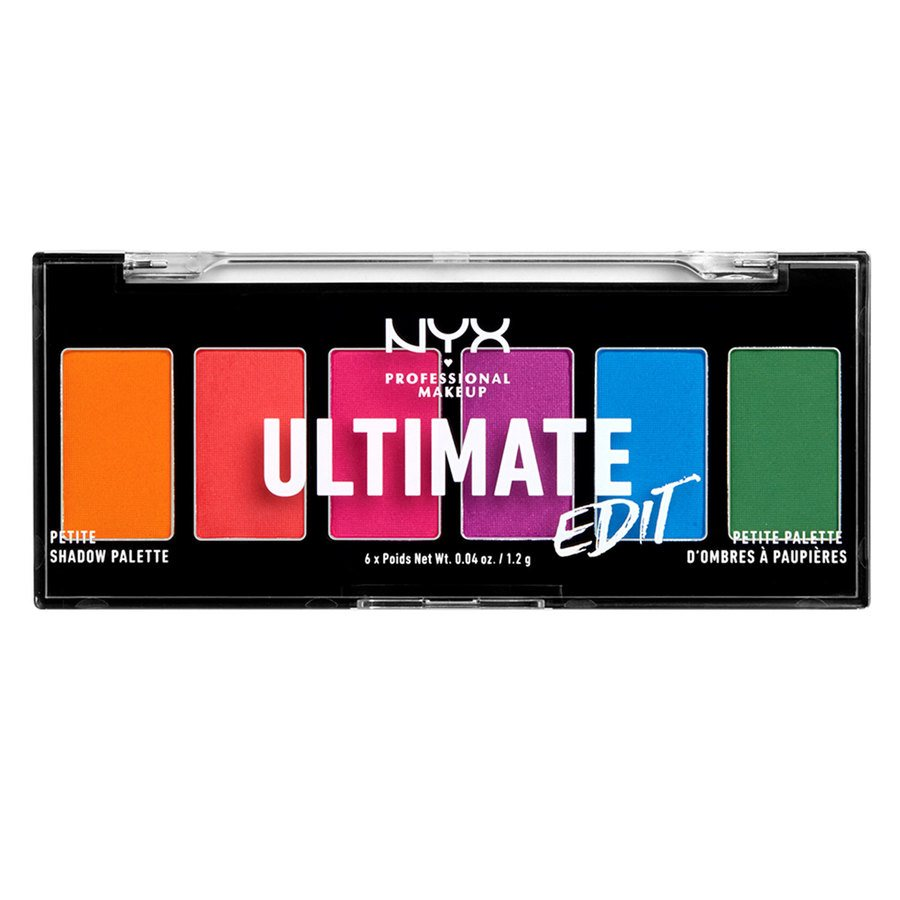 NYX Professional Makeup Ultimate Edit Petite Shadow Palette 02 Brights 7,2g