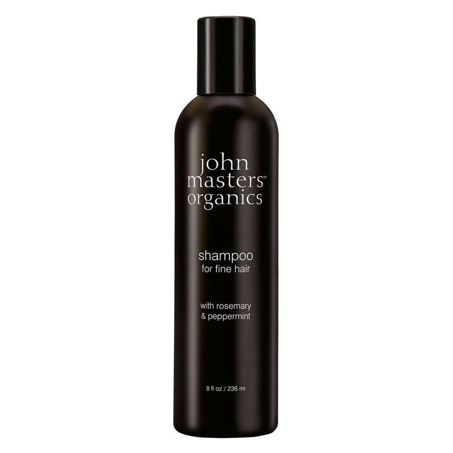 John Masters Organics Shampoo For Fine Hair With Rosemary & Peppermint 236 ml