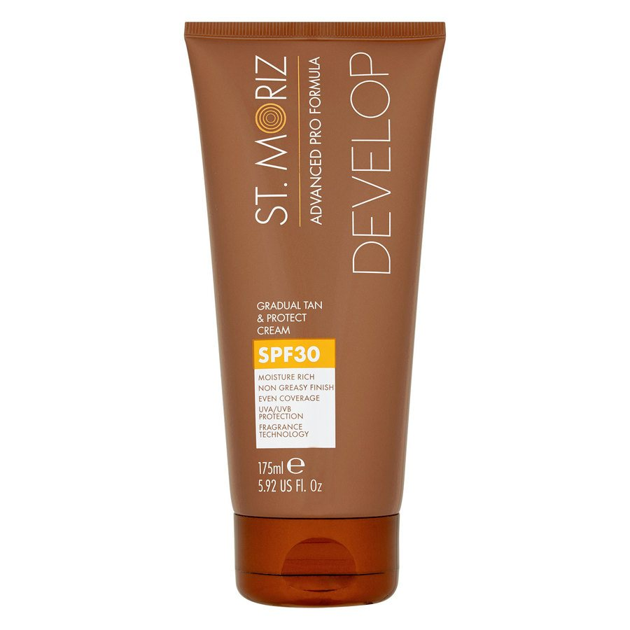 St. Moriz Advanced Pro Formula Develop Gradual Tan & Protect Cream SPF 30 175 ml