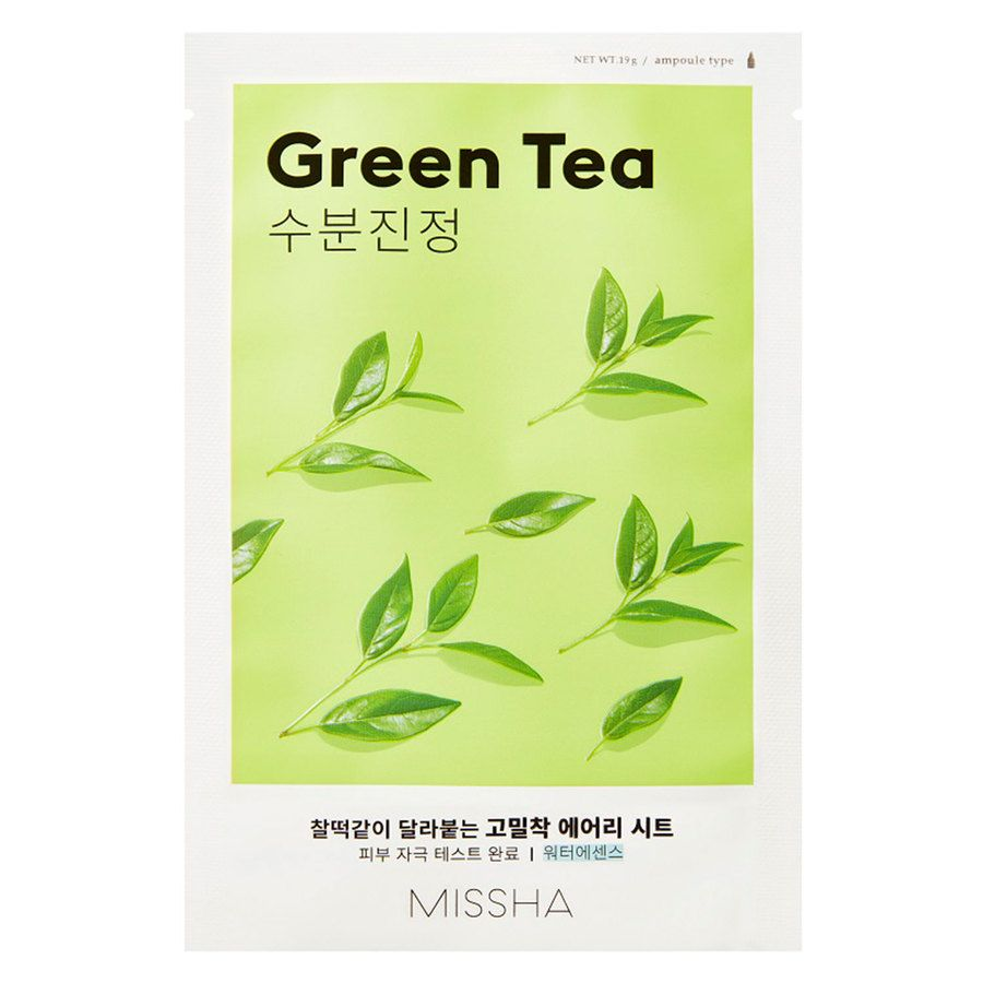 Missha Airy Fit Sheet Mask Green Tea 19 g