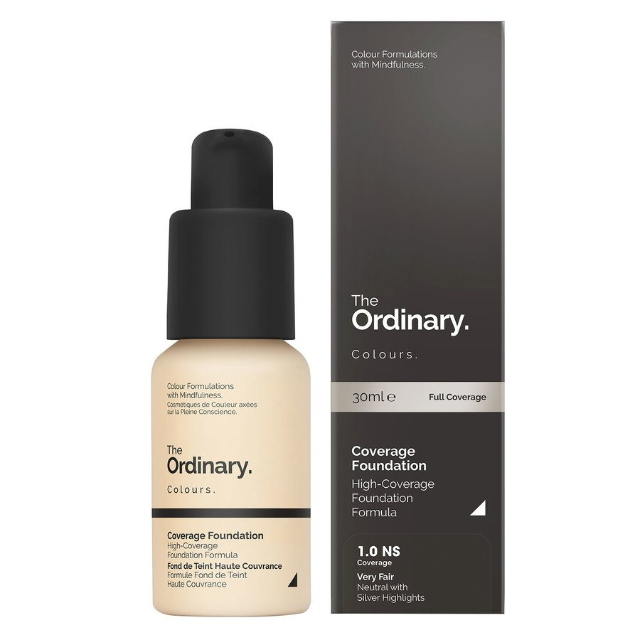 The Ordinary Coverage Foundation 30ml - 1.0 NS Very Fair Neutral Silver