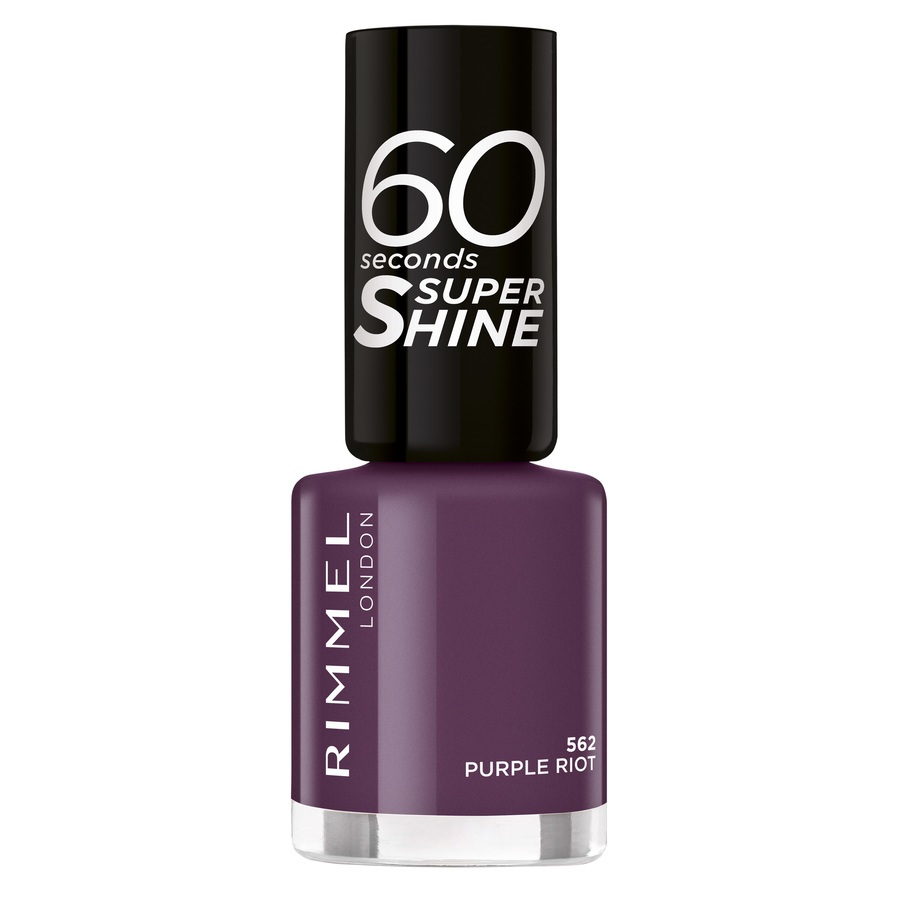 Rimmel London 60 Seconds Super Shine Nail Polish 8 ml – 562
