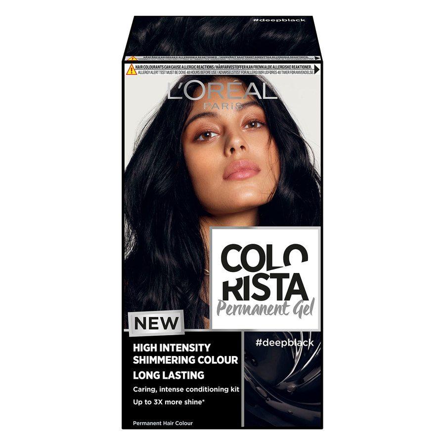 L'Oréal Paris Colorista Permanent Gel ─ Deep Black