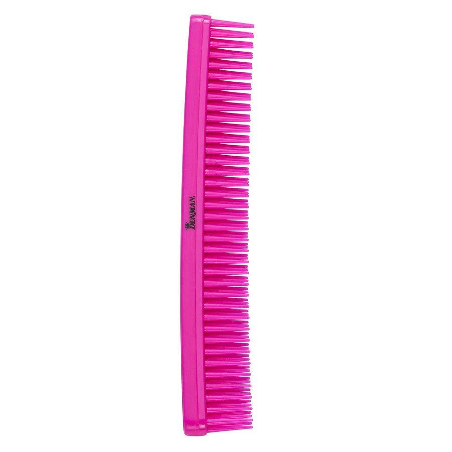 Denman D12 Detangle & Tease Comb ─ Pink
