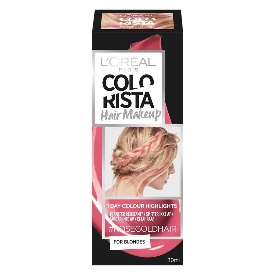 L'Oréal Paris Colorista Hair Makeup - 7 Rosegold