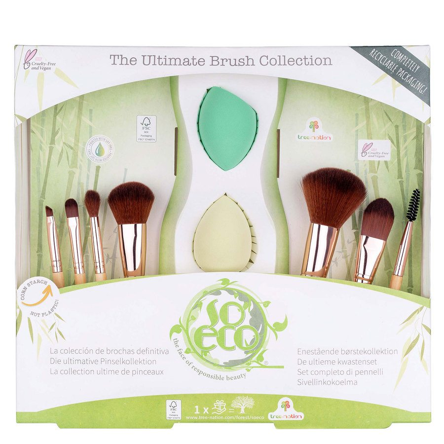 So Eco Ultimate Brush Collection 9 kpl