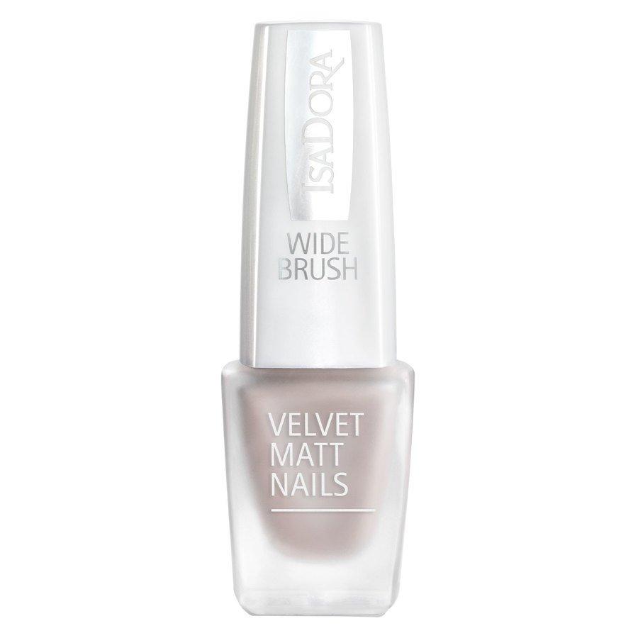 IsaDora Velvet Matt Nails 6 ml ─ #203 Velvet Greige