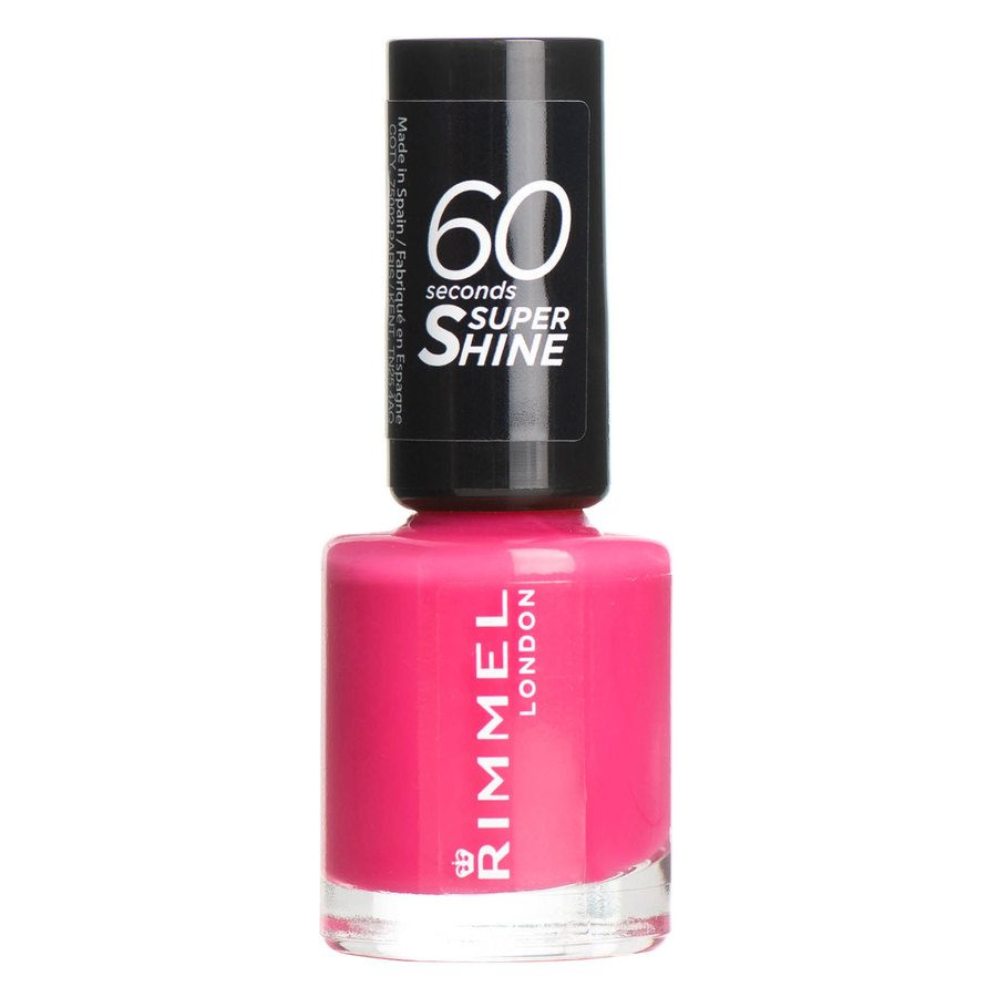 Rimmel London 60 Seconds Super Shine Nail Polish 8 ml ─ #322 Neon Fe