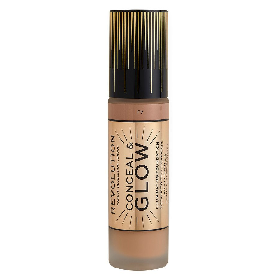 Makeup Revolution Conceal & Glow Foundation 23 ml ─ F7
