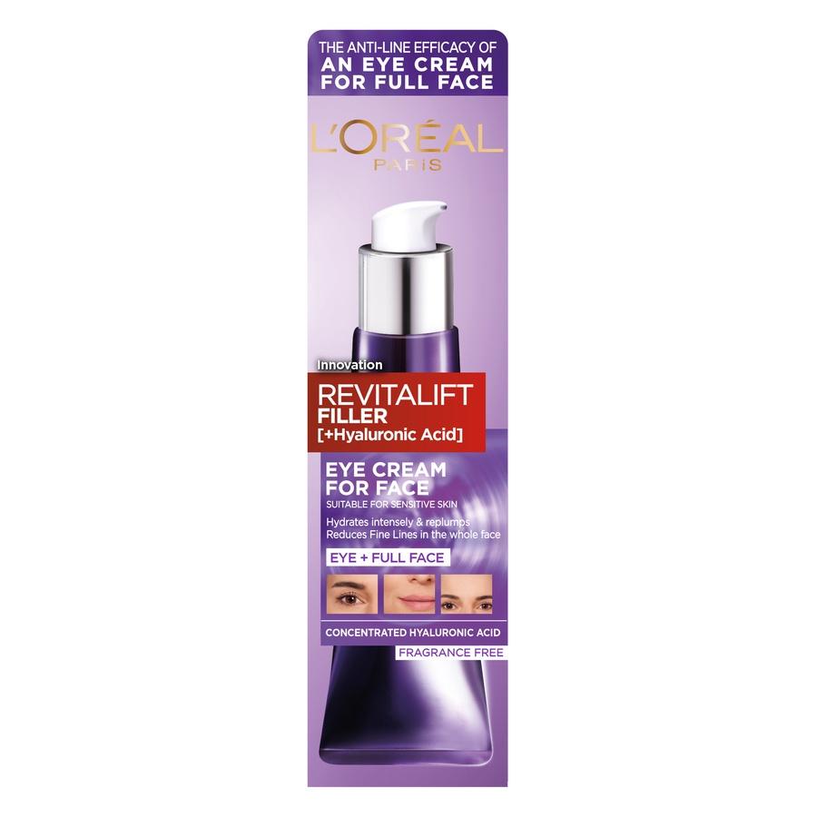 L'Oréal Paris Revitalift Filler Eye Cream For Face 30ml
