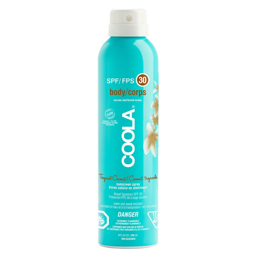Coola Sunscreen Spray SPF 30 236 ml – Tropical Coconut