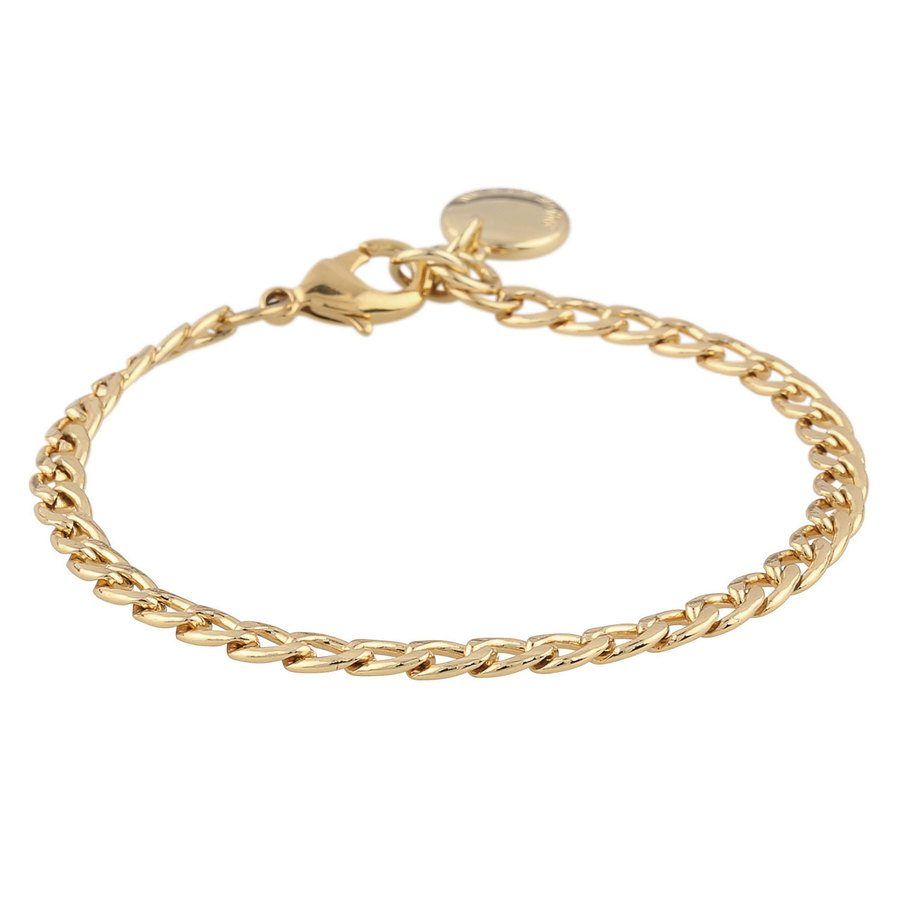 Snö Of Sweden Chase Mario Small Bracelet – Plain Gold