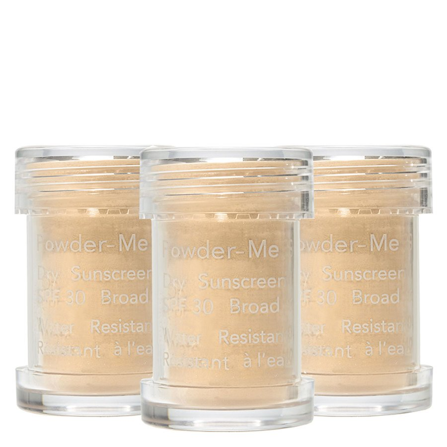 Jane Iredale Powder-Me Dry Sunscreen SPF 30 Refill 3 x 2,5 g – Tanned