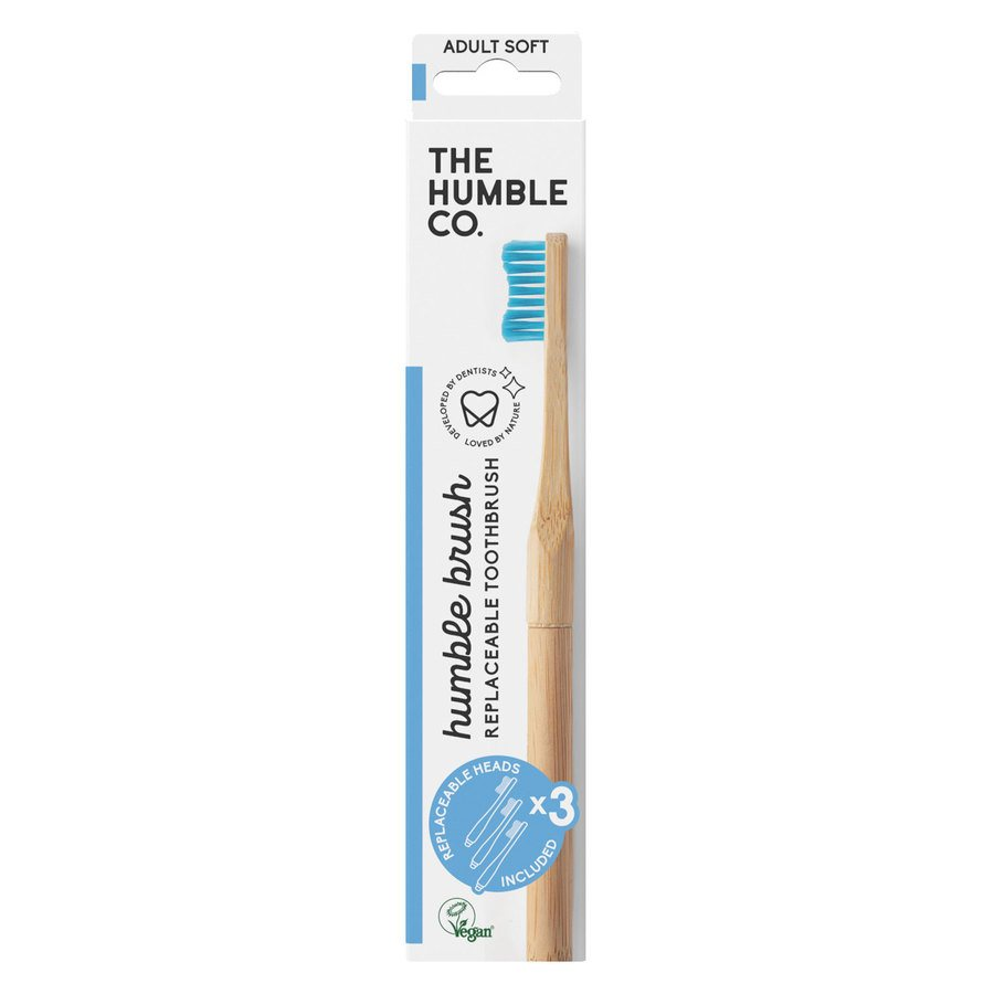 The Humble Co Humble Brush Interchangeable Head – Blue Soft