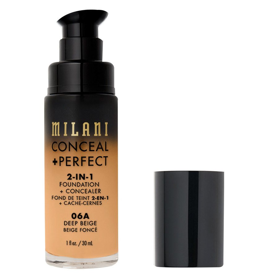 Milani Cosmetics Conceal+ Perfect 2-In-1 Foundation + Concealer 30 ml ─ Deep Beige