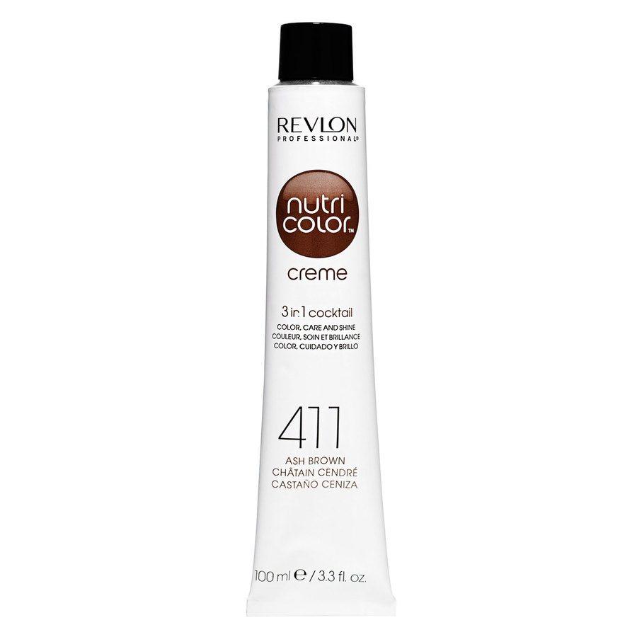 Revlon Professional Nutri Color Creme 100 ml – 411 Brown