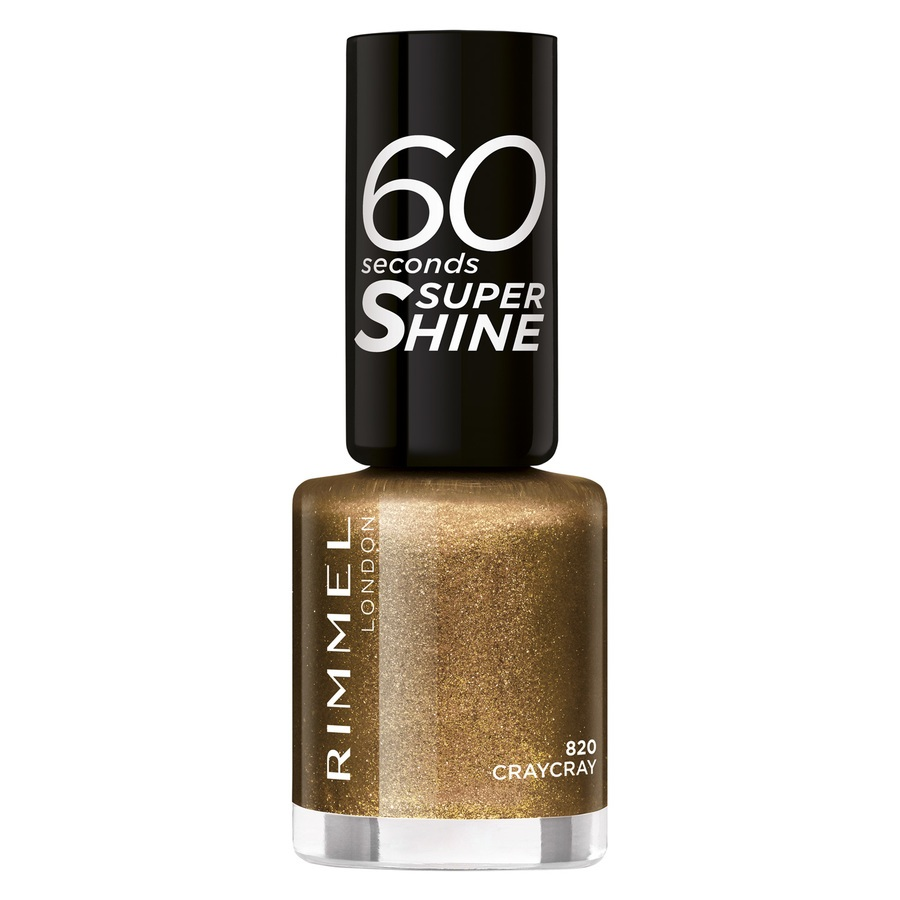 Rimmel London 60 Seconds Super Shine Nail Polish 8 ml – 820